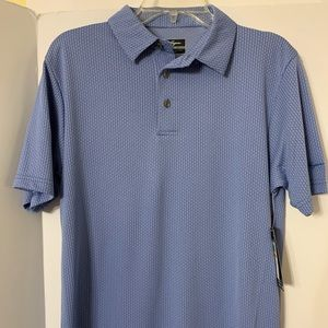 Blue men's golf shirt size Small Ben Hogan